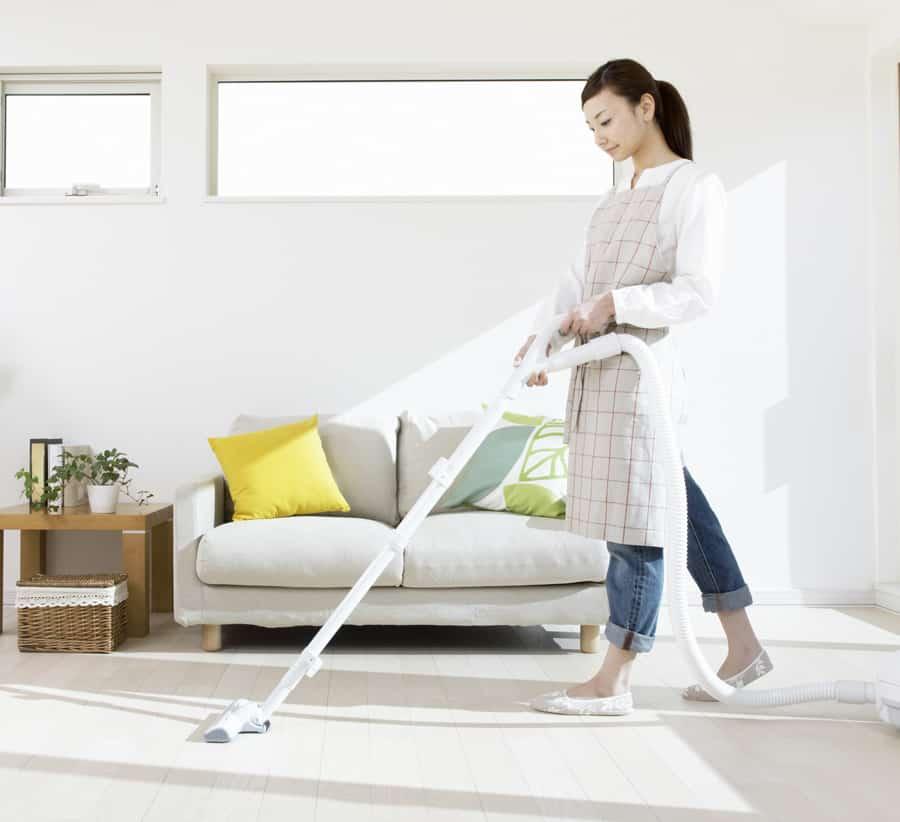 Các hạng mục cần thực hiện khi vệ sinh nhà cửa
