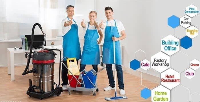 Công ty vệ sinh công nghiệp hàng đầu