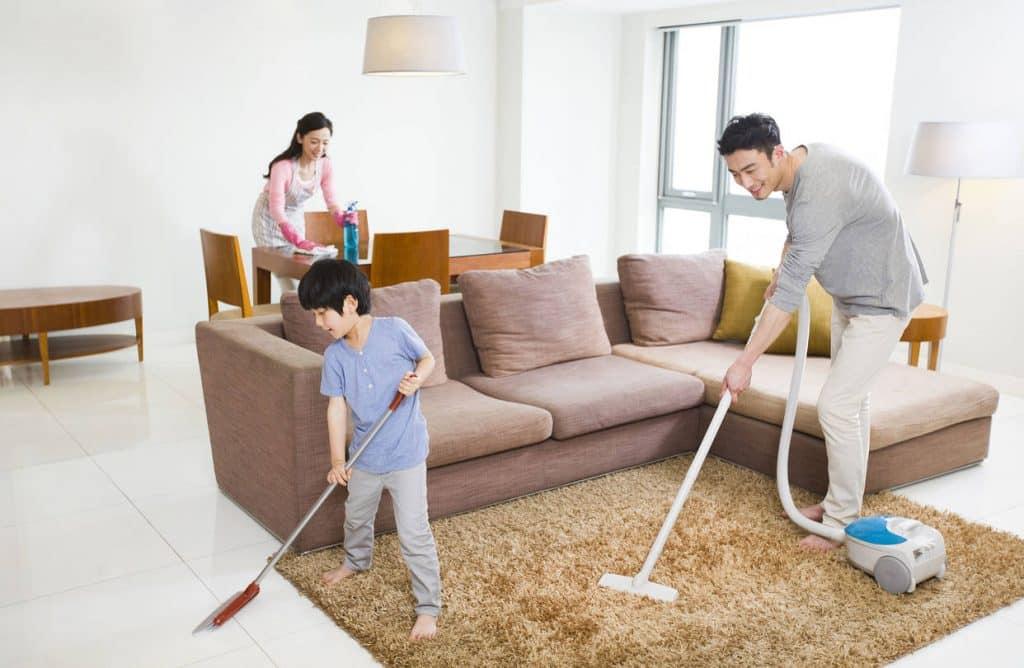 Dịch vụ vệ sinh nhà sạch