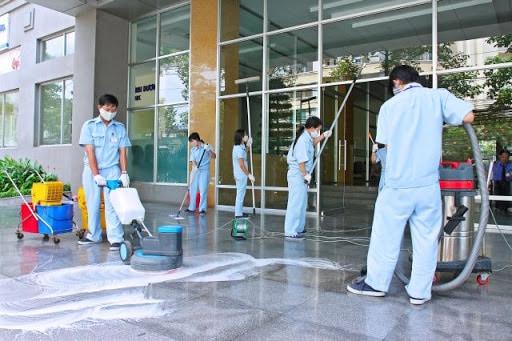 Quy trình vệ sinh sau xây dựng