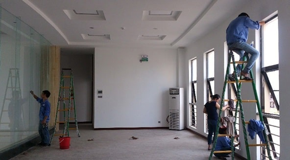 công ty cung cấp dịch vụ vệ sinh sau xây dựng tại HCM