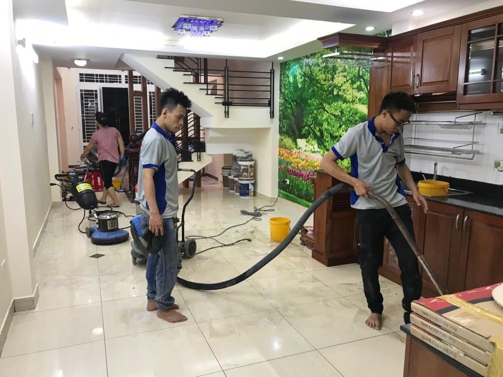 Các loại dịch vụ vệ sinh tại quận 1