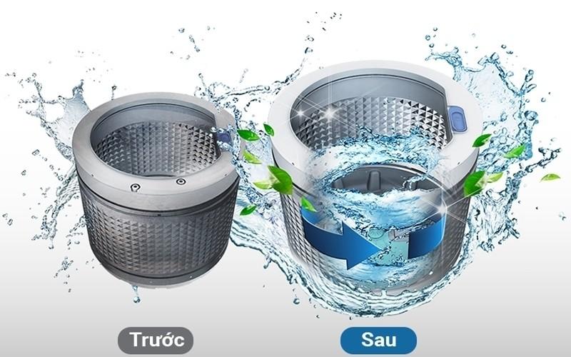 Cách vệ sinh lồng máy giặt nào hiệu quả, an toàn