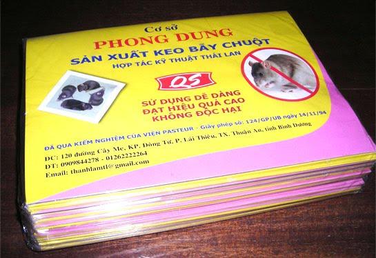 Keo bẫy chuột Phong Dung