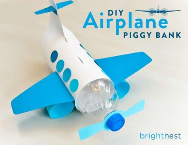 Làm máy bay bằng chay nhựa