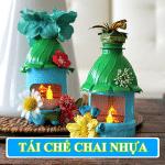 {Mẹo Hay} Top 33 cách tái chế chai nhựa đơn giản nhất