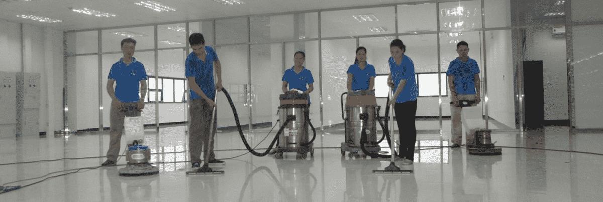 Công ty vệ sinh công nghiệp cần gì