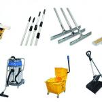 Các dụng cụ làm vệ sinh công nghiệp bạn cần biết