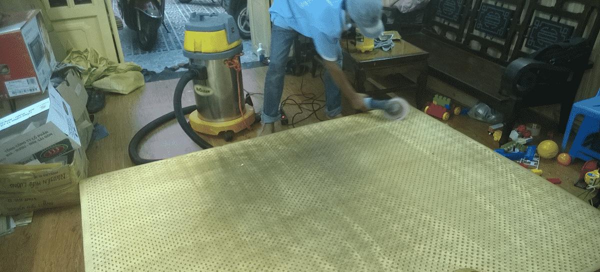 Dịch vụ giặt nệm tại nhà ở TPHCM