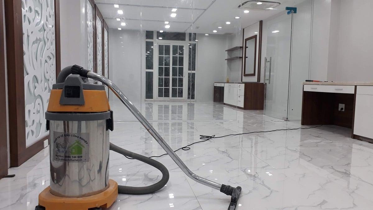 Quy trình vệ sinh công nghiệp sau xây dựng