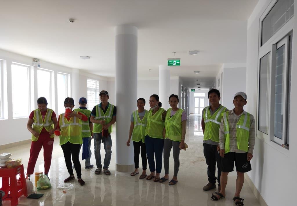 Công ty vệ sinh công nghiệp Nice House