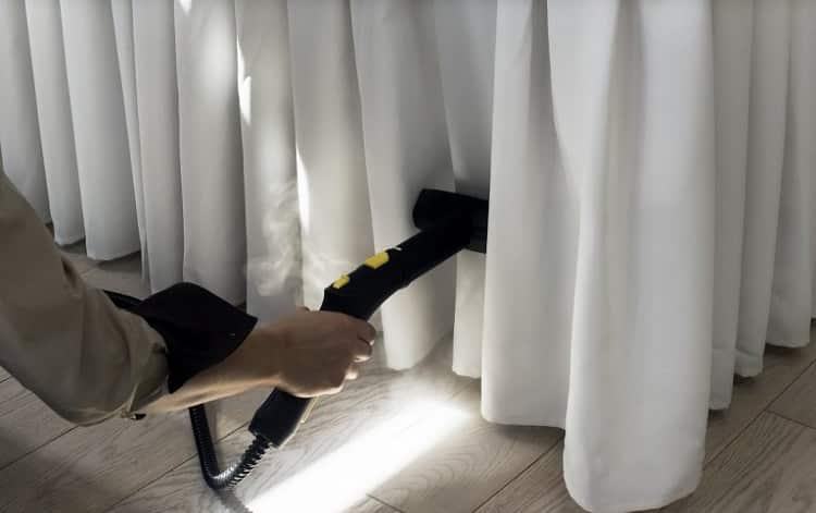 Dịch vụ giặt rèm cửa ở Hóc Môn