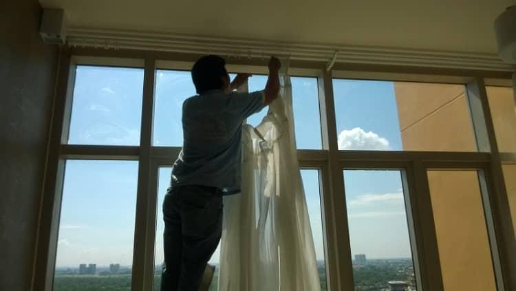 Dịch vụ giặt rèm cửa tại Quận 11