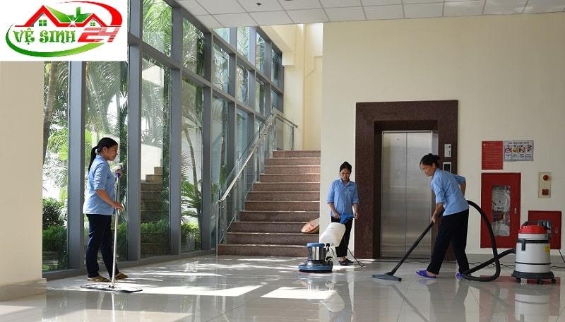 Dịch vụ vệ sinh công nghiệp Quận 6