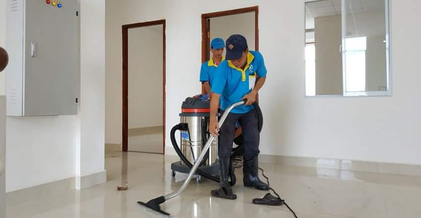 Dịch vụ vệ sinh công nghiệp Cần Giờ