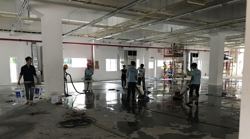 Công ty vệ sinh nhà xưởng Gò Vấp