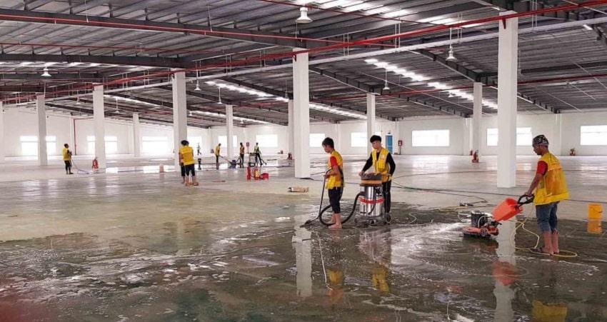 Công ty vệ sinh nhà xưởng Quận 6