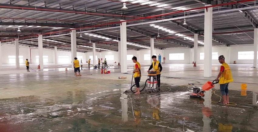Dịch vụ vệ sinh nhà xưởng Bình Chánh